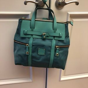 TEAL - HENRY BENDEL CONVERTIBLE BACKPACK